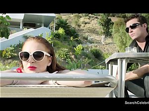 James Deen and Lindsay Lohan get sizzling on cam
