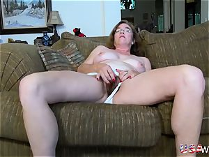 USAwives fur covered grandma Pusssy romped With hookup toy