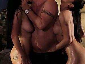 Vicki pursue and Katrina Jade want more than orgy