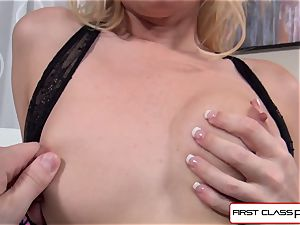 Aaliyah love sucks and drill a immense spunk-pump in pov style