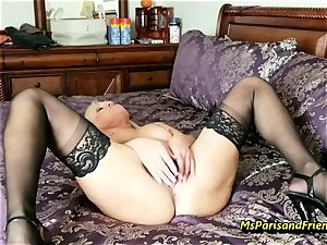 fill Up the Strippers gaping cunt with Ms Paris Rose