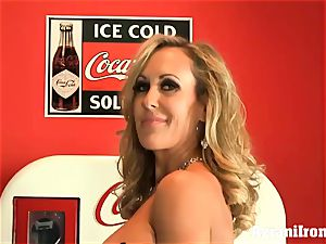 ripped up Brandi love unclothes and strokes
