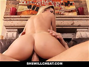 hotwife husband witnesses Wifes puss Get wrecked