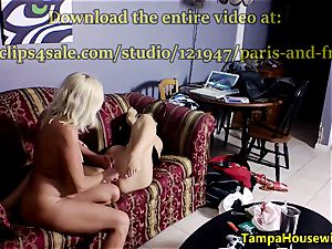 Ms Paris Rose in two horny ladies with toys
