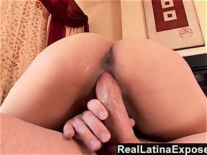RealLatinaExposed Vanessa gets drippingwet