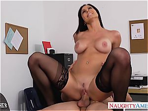 Kendra eagerness ultra-kinky at the office for a porking