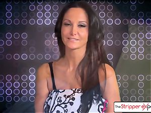 The Stripper experience- Ava Addams and get a ultra-cute plow