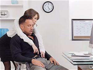 Kimmer Granger sits on Johnnys fuck-stick