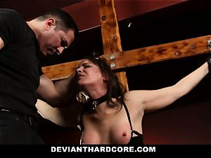 DeviantHardcore-Hot milf fondled and manacled To Cross