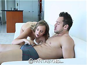 FantasyHD - Alexis Adams gets revved over and screwed