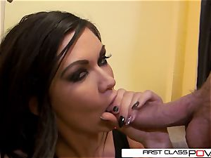 first ClassPOV- Kendall fellate 2 immense fuck-sticks at same time