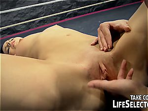 NudeFightClub introduces Amirah Adara vs Jessyka Swan