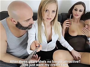 LOS CONSOLADORES - super-steamy swinger 4 way with scorching stunners