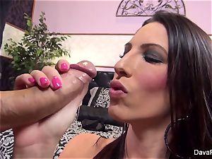 Dava's super-fucking-hot pov deep throat