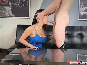 Michael Vegas blows a load on super hot brunette Peta Jensen