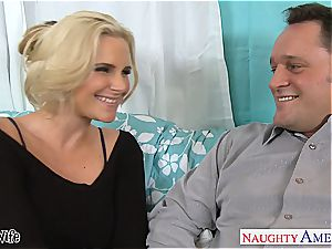 red-hot wife Phoenix Marie gets pinkish pussy pulverized