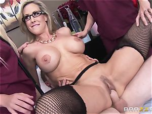 Rock hard patient gets pounded by medic Brandi love