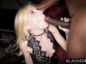 BLACKEDRAW tiny platinum-blonde dominated by black fellow