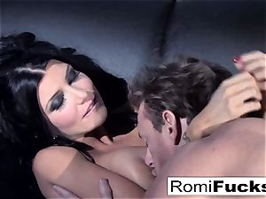 mind-blowing taunt followed by rock-hard lovemaking with Romi Rain