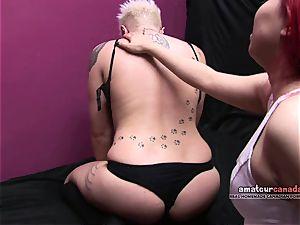 asian female domination point of view porks short hair victim kitten strapon