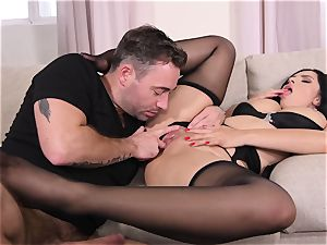 mind-blowing soles In Nylons