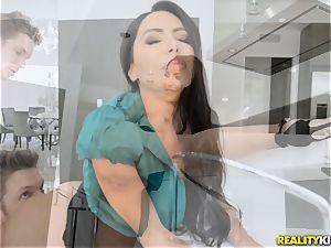 Smoking super-fucking-hot Lela star screwed in her taut pussy