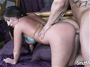 warm Blooded mummy Blows and fucks a ample schlong