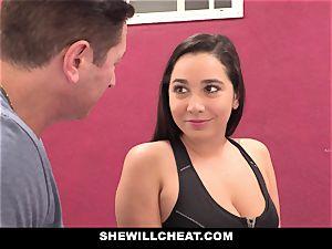 SheWillCheat cuckold gf Karlee Grey porks Trainer