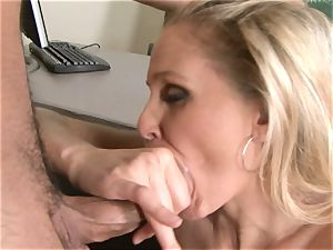 Julia Ann is a hard-core milf who wants to put her cunny on a firm stiffy