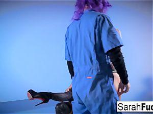 ample spunk-pump Skullman drills two steaming ladies