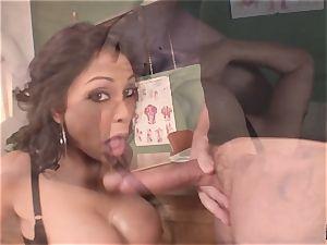 shrieking and shrieking Priya Rai popped in the cootchie by headteacher