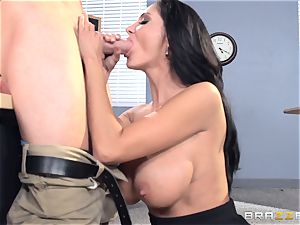 chesty instructor Ava Addams is plumbed by her student