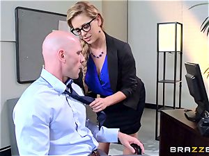 Cherie Deville sacks people the finest way she can