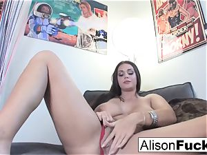 Alison Tyler is interviewed then plays