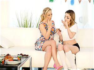 Kristen Scott gets individual with steamy stepmom Cherie Deville