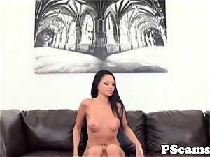 cum-gulping livechat session with Raven Bay