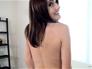 Adria Rae gets carried away at a sexy casting session